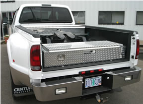 fifth wheel tool boxes built just for the 5th wheel puller built by highway proudcts - Tool Box For Trucks