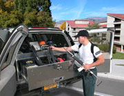 SUV incerts, security tool boxes for SUV,  work great for police, fire department, EMT, Veterinarians and FBI. Built by Highway Products. Since 1980.