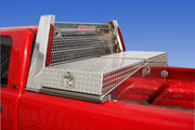 Pickup truck tool boxes and headache racks for pickups thru semi trucks by 1-800-TOOLBOX