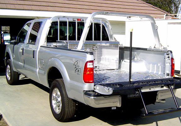 how to build a truck ladder rack