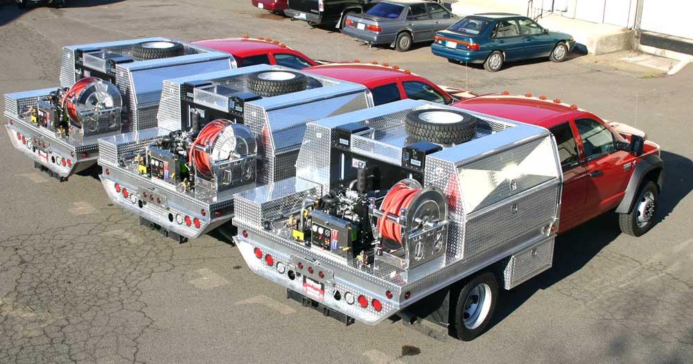Fire Truck Flatbeds | Fire Equipment | Quick Response Vehicles ...