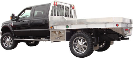 Aluminum Flatbed Truck Bed