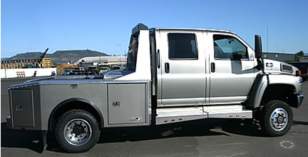 Pickup Truck; Semi Tool boxes, Cab guards, Pickup Headache ...
