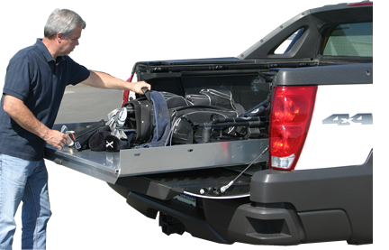 Truck Bed Storage Slide Out Drawers For Truck Bed Or Service Body ...
