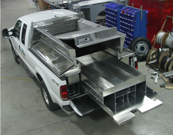 Truck bed Caro tray by Highway Products, Inc.