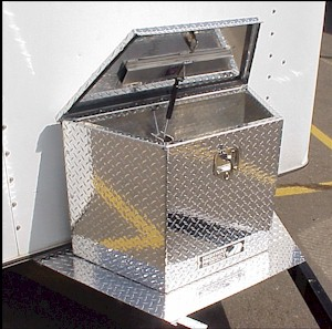 trailer tool box. trailer tongue tool boxes built by highway products. see our web site at products box