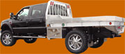 Aluminum truck flatbed bodies, platform bodies, and stake bodies from Highway Products.