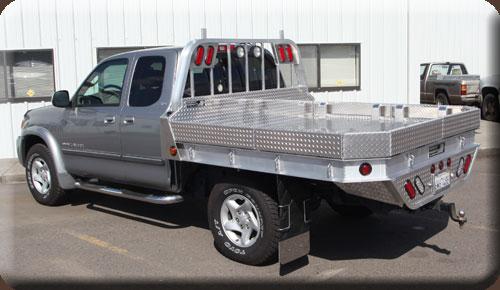 Pickup Truck Flat Beds